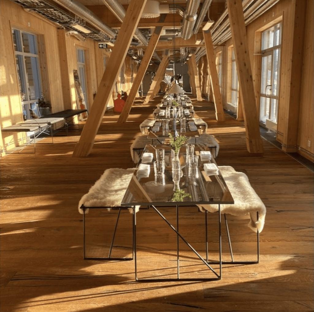 Restaurang trägårn i Duved